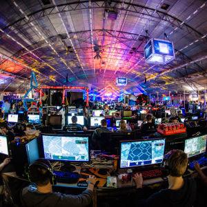 DreamHack Winter 2015 -tapahtumasta