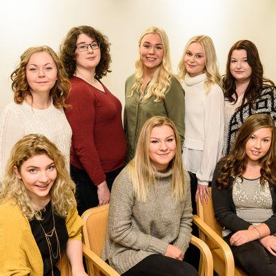 Det här är kandidaterna till Finlands lucia 2016.