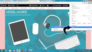Anvisning för uppdatering av webbläsare i Google Chrome