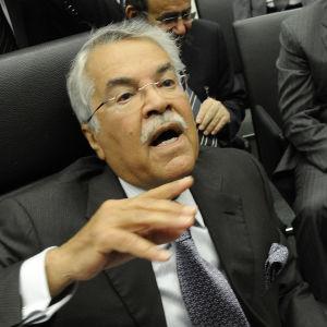 Saudiarabiens oljeminister Ali al-Naimi på OPEC-mötet i november 2014