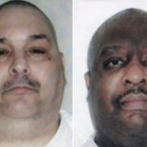 Jack Jones och Marcel Williams som avrättades i Arkansas på måndag kväll 24.4.2017
