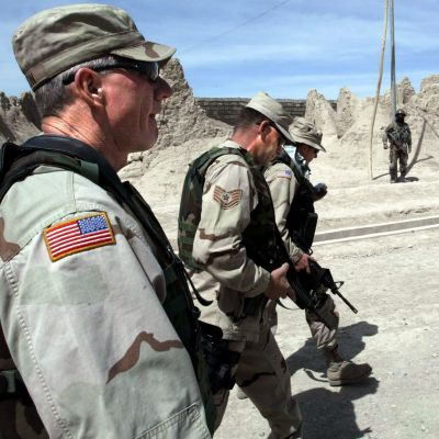 Amerikanska soldater i Afghanistan 2004