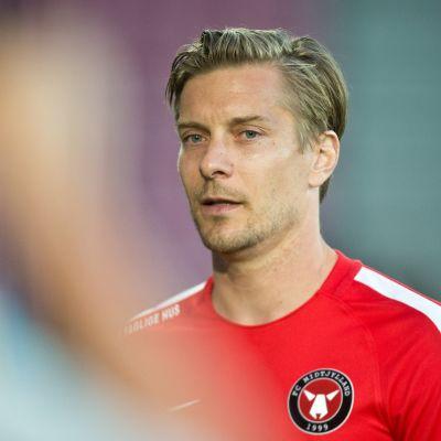 Markus Halsti Midtjyllandin paidassa 2018.