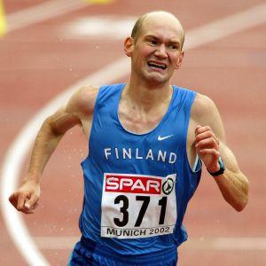 Janne Holmén vinner EM-guld 2002.
