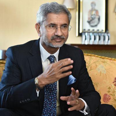 Intian ulkoministeri Subrahmanyam Jaishankar.