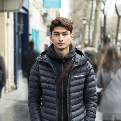 19-vuotias Ehsan Rahimi.