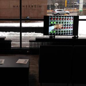Oi maamme! -näyttely Kiasmassa, avajaiset 28.2.2017.