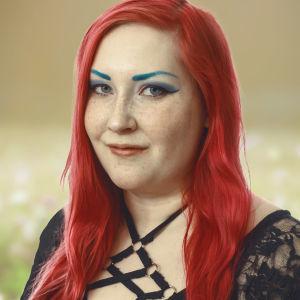 Runoilija Rosanna Fellman Vegan kesäpuheissa  2019
