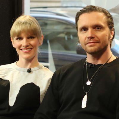 Sophia och Pelle Heikkilä.