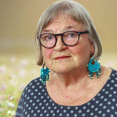 Porträttbild på journalisten Britta Lindblom