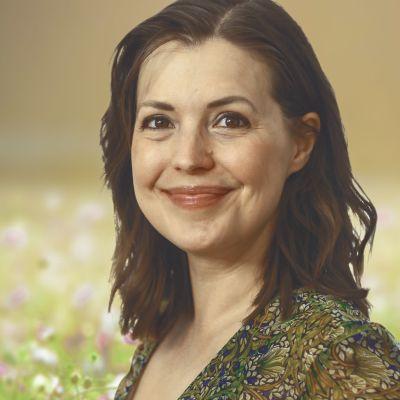 Porträttbild på författaren Eva Frantz
