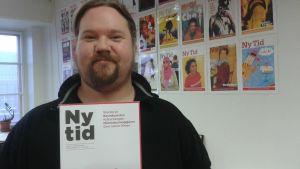 Ny Tids chefredaktör Janne Wass.