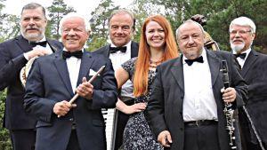 Charlotta Kerbs och Birger's Ragtime Band