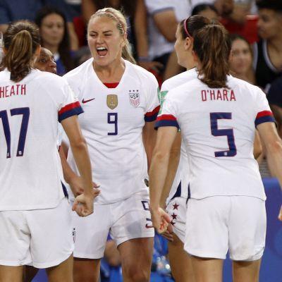 USAn naisten jalkapallomaajoukkue