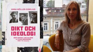 Anna Möller-Sibelius på Åbo stadsbibliotek.