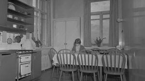 Inredning på 1950-talet.
