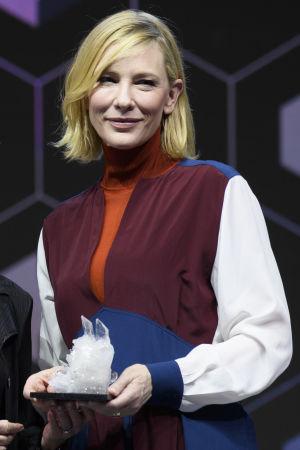 Cate Blanchett vid WEF