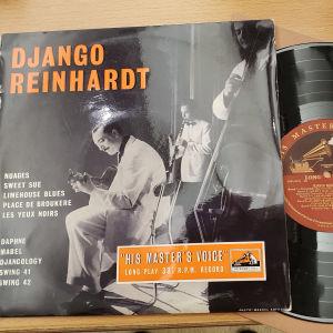 Django Reinhartin levynkansi ja levy