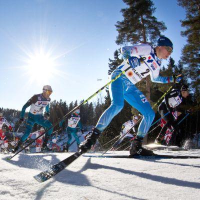 Matti Heikkinen kuvassa.