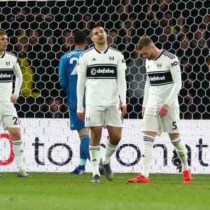 Fulham klart för nedflyttning.