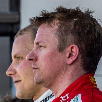 Valtteri Bottas, Kimi Räikkönen.
