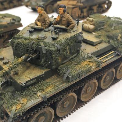 Panssarivaunun pienoismalli