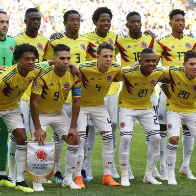 Kolumbia joukkuekuva