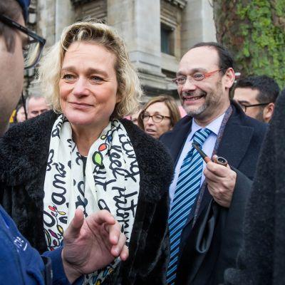 Delphine Boël on vuosia vaatinut selvyyttä siihen, onko Belgian entinen kuningas Albert II hänen biologinen isänsä. Tässä Boël helmikuussa 2017.
