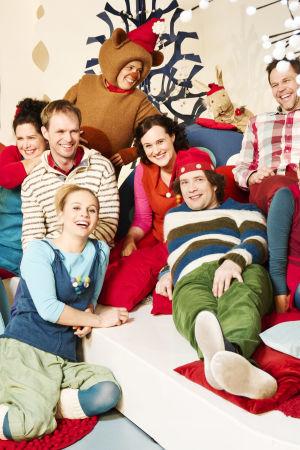 Pikku Kakkosen joulukuva juontajista 2014