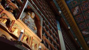 Buddhalainen temppeli, Etelä-Korea