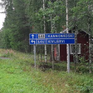 Tiekyltti Kannonkoski - Kivijärvi