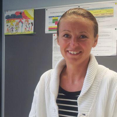 Ulrika Willför-Nyman är rektor i Vindängens skola i Esbo