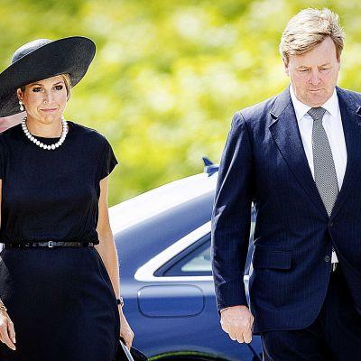 Hollannin kuningatar Maxima ja kuningas Willem-Alexander