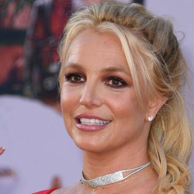 Britney Spears deltar i premiärvisningen av filmen Once Upon a Time... in Hollywood på en biograf i Hollywood den 22 juli 2019.