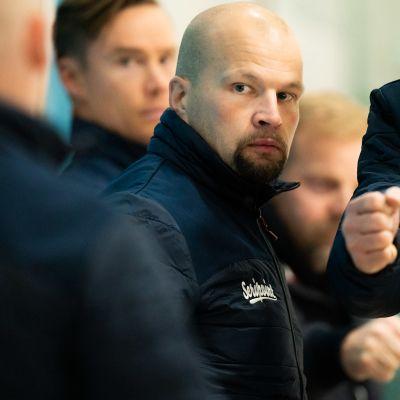 Kajaanin Hokin päävalmentaja Jarkko Heikkinen