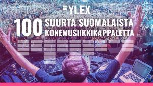 Kansikuva. 100 suurta suomalaista konemusiikkikappaletta.