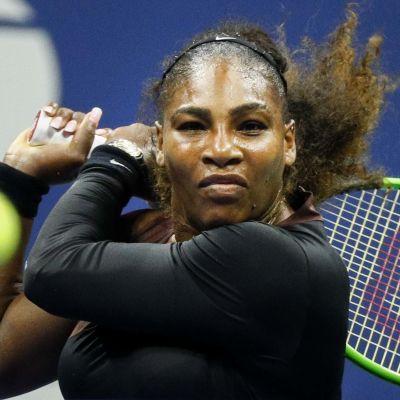 Serena Williams är i bra form.