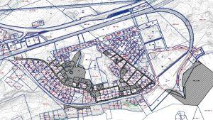 Lappvik, markområden som Hangö stad köper