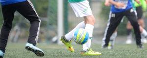 Juniorfotbollsspelare.