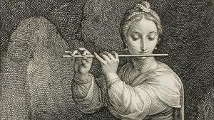 Musiikin ja runouden muusa Euterpe