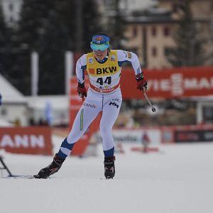 Krista Pärmäkoski i Davos