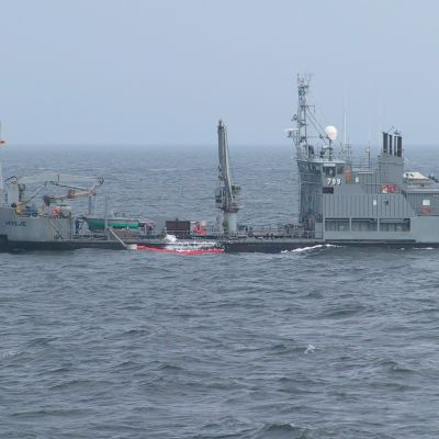 Oljebekämpningsfartyget Hylje