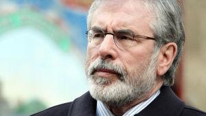 Gerry Adams, partiordförande för Sinn Féin.