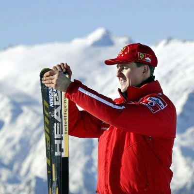 Arkistokuva Michael Schumacherista.