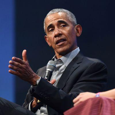 Yhdysvaltain entinen presidentti Barack Obama