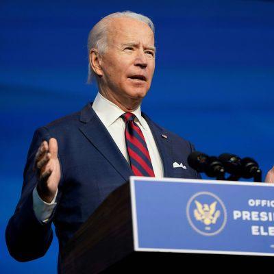 Presidenttiehdokas Joe Biden.