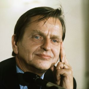 Svreriges statsminister Olof Palme 1927-1986