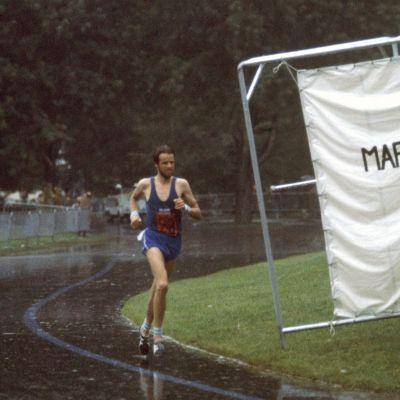 Lasse Virén maratonilla Montreal 1976