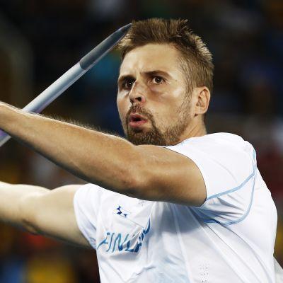 Keihäänheittäjä Antti Ruuskasen suoritusta Riossa seurasi Suomen aikaan aamuyöllä noin 430 000 televisiokatsojaa.