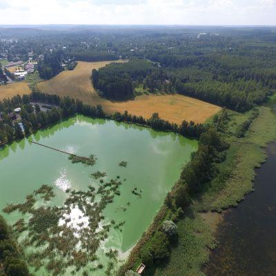 leväjärvi ilmakuvassa